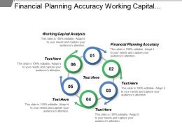 Financial Planning Accuracy Working Capital Analysis Market Spend Effectiveness