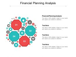 Financial Planning Analysis Ppt Powerpoint Presentation File Designs Cpb