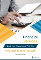 Financial Planning And Consulting Four Page Brochure Template