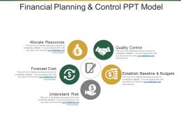 Financial Planning And Control PPT Model