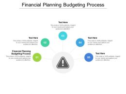Financial Planning Budgeting Process Ppt Powerpoint Presentation Inspiration Picture Cpb