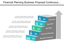 Financial Planning Business Proposal Continuous Improvement Plan Business Plan Cpb