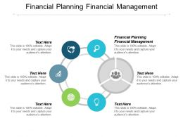 Financial Planning Financial Management Ppt Powerpoint Presentation Ideas Slide Download Cpb