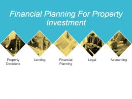 Financial Planning For Property Investment Powerpoint Slide Backgrounds