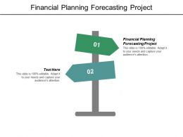 Financial Planning Forecasting Project Ppt Powerpoint Presentation File Example Cpb