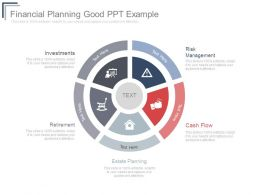 Financial Planning Good Ppt Example