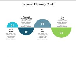 Financial Planning Guide Ppt Powerpoint Presentation Infographic Template Cpb