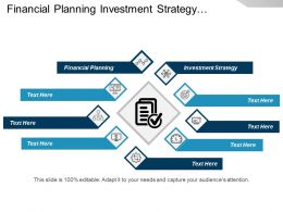 Financial Planning Investment Strategy Marketing Strategies Event Management Cpb