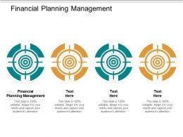 Financial Planning Management Ppt Powerpoint Presentation Inspiration Picture Cpb