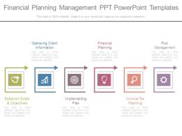 Financial Planning Management Ppt Powerpoint Templates