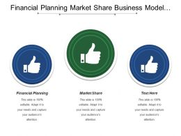 Financial Planning Market Share Business Model Value Proposition