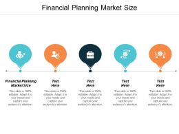 Financial Planning Market Size Ppt Powerpoint Presentation Infographic Template Themes Cpb
