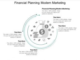 Financial Planning Modern Marketing Ppt Powerpoint Presentation File Templates Cpb