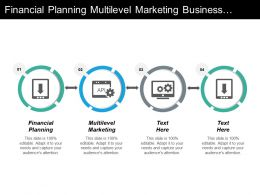 Financial Planning Multilevel Marketing Business Management Ecommerce Management Cpb