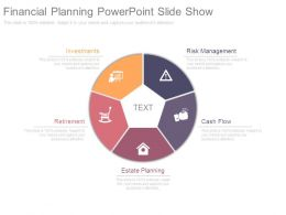 Financial Planning Powerpoint Slide Show