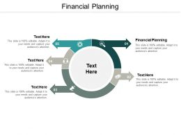 Financial Planning Ppt Powerpoint Presentation Model Layouts Cpb