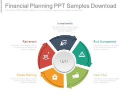 Financial Planning Ppt Samples Download
