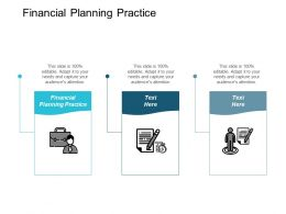 Financial Planning Practice Ppt Powerpoint Presentation Gallery Sample Cpb
