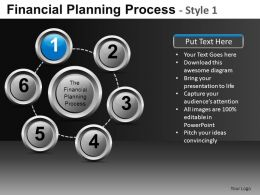 Financial Planning Process 1 Powerpoint Presentation Slides DB