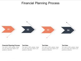 Financial Planning Process Ppt Powerpoint Presentation Infographics Mockup Cpb