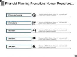 Financial Planning Promotions Human Resources Management Brand Management Cpb