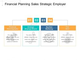 Financial Planning Sales Strategic Employer Brand Big Data Marketing Cpb
