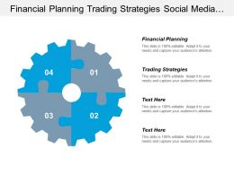 Financial Planning Trading Strategies Social Media Online Marketing Cpb