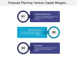Financial Planning Venture Capital Mergers Acquisitions Business Continuation Cpb