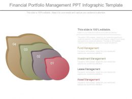 Financial Portfolio Management Ppt Infographic Template