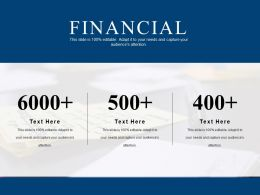 Financial Powerpoint Show Template 2
