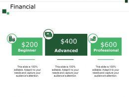 Financial Powerpoint Slide Design Templates