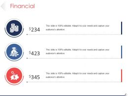 Financial Powerpoint Slide Images Template 1