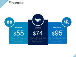 Financial Powerpoint Slide Presentation Examples