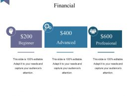 Financial Powerpoint Slides