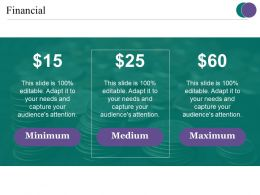 Financial Ppt Examples