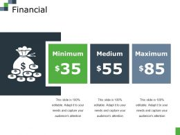 Financial Ppt File Infographics