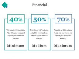 Financial Ppt Infographics
