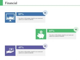 Financial Ppt Infographics Samples