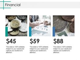Financial Ppt Infographics Show