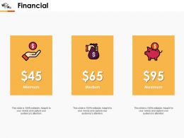 Financial Ppt Professional Design Templates