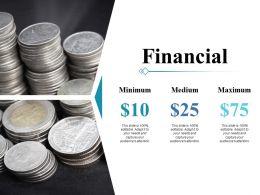 Financial Ppt Professional Slide