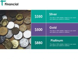 Financial Ppt Shapes