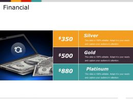 Financial Ppt Slide Design