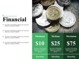 Financial Ppt Slides