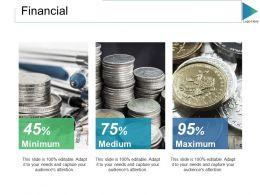 Financial Ppt Slides Brochure