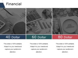 Financial Ppt Slides Graphics Template