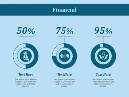 Financial Ppt Slides Infographics