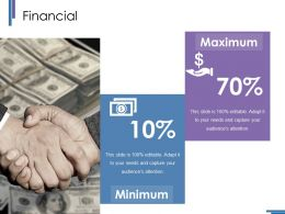 Financial Ppt Styles Portrait