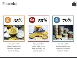 Financial Ppt Summary Background Designs