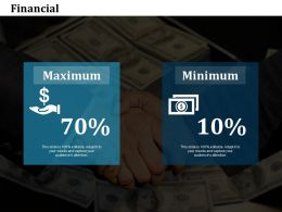 Financial Ppt Summary Graphics Example